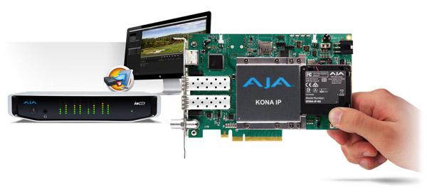 AJA Video Systems社、KONA®、Io®、T-TAP®向けのデスクトップソフトウェアv12.5を発表