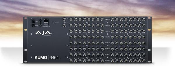 AJA Video Systems社、IBC 2016においてコンパクトSDI ルーター「KUMO® 6464」を発表
