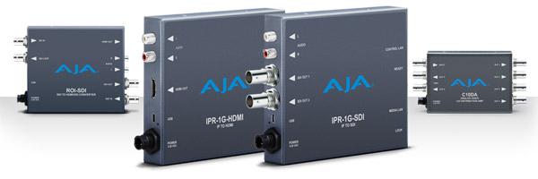 AJA Video Systems社、IBC 2016において新しいミニコンバーターを発表
