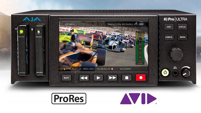 AJA Video Systems社、Avid DNxHDに対応したKi Pro Ultra v2.0ファームウェアを公開