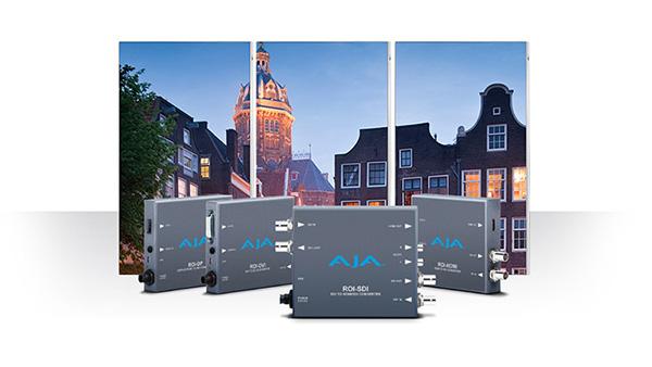 AJA Video Systems社、ROI-SDIスキャンコンバーターの出荷を開始