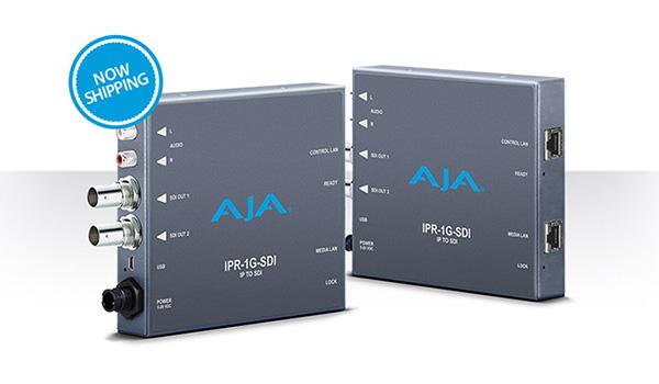 AJA Video Systems社、IPワークフロー向けのミニコンバーター「IPR-1G-SDI」の出荷を開始