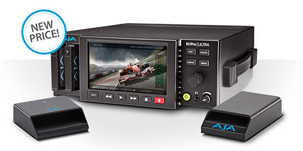 AJA Video Systems社、ファイルベースレコーダー兼プレイヤー「Ki Pro Ultra」の値下げを発表