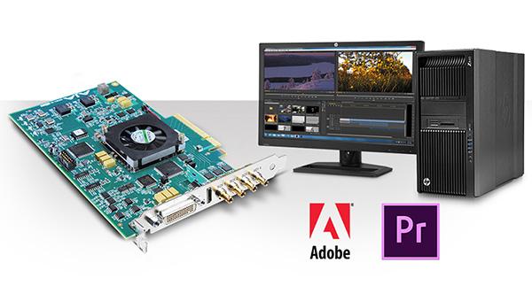 AJA Video Systems社、最新版Adobe Premiere Pro CCをサポートし、ハイブリッドログガンマでのHDRワークフローに対応