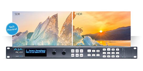 AJA Video Systems社、HDRカラースペース変換を可能にする革新的なFS-HDRをNAB 2017で試演