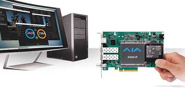 AJA Video Systems社、IPワークフロー向けの新しいソリューションをNAB 2017で発表