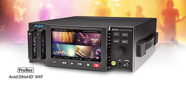 AJA Video Systems社、4チャンネルHDレコーディングとHDMI 2.0対応のKi Pro Ultra Plusを発表