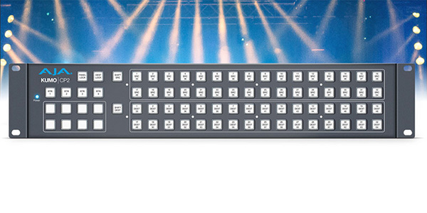 AJA Video Systems社、KUMO CP2コントロールパネルを発表