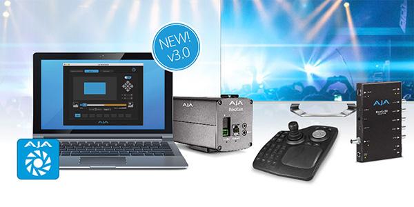 AJA Video Systems社、RovoCamカメラシステム向けのソフトウェアRovoControl 3.0で新機能を搭載