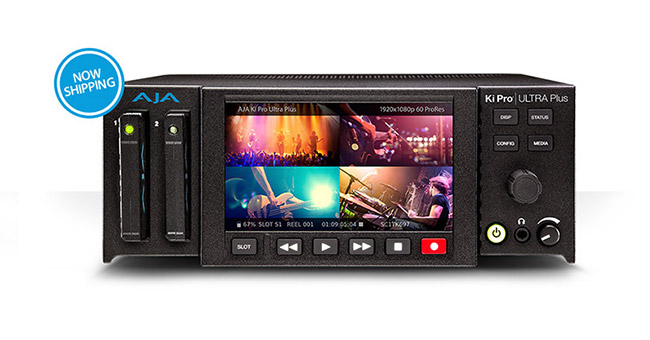 AJA Video Systems社、Ki Pro Ultra Plus の出荷を開始