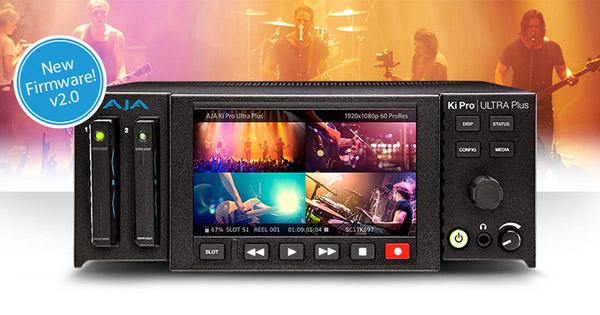 AJA Video Systems社、IBC 2017でHLGおよびHDR 10に対応したKi Pro Ultra Plusファームウェア v2.0を発表