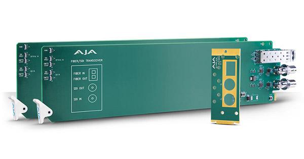 AJA Video Systems社、IBC 2017で3G-SDIのマルチモードに対応したopenGearファイバーカードを発表