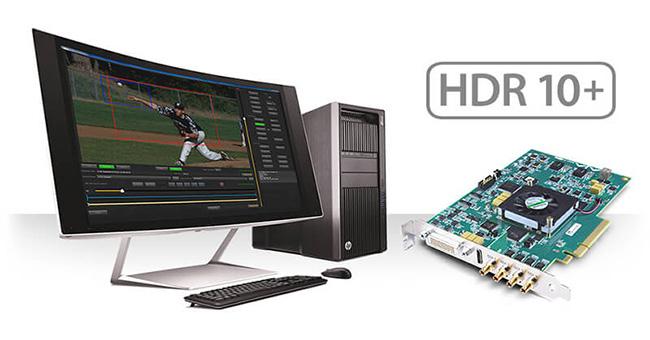 AJA Video Systems社、KONA 4、Io 4K、Io 4K Plusおよび開発者向けビデオカードCorvid 4Kに対応した「HDR10+ SDK」を発表