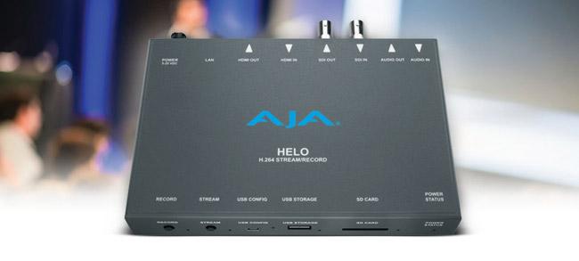 AJA Video Systems社、H.264ストリーミング&収録デバイス「HELO」の出荷を開始
