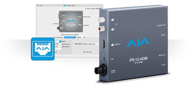 AJA Video Systems社、ミニコンバーターの新製品「IPR-1G-HDMI」の出荷を開始