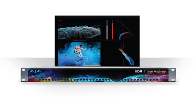 AJA Video Systems社、NAB 2018でHDR Image Analyzerを試演