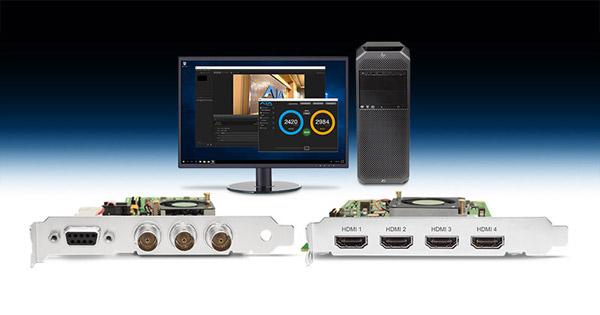 AJA Video Systems社、KONA HDMI、KONA 1、Desktop Software v14.2をNAB 2018で発表