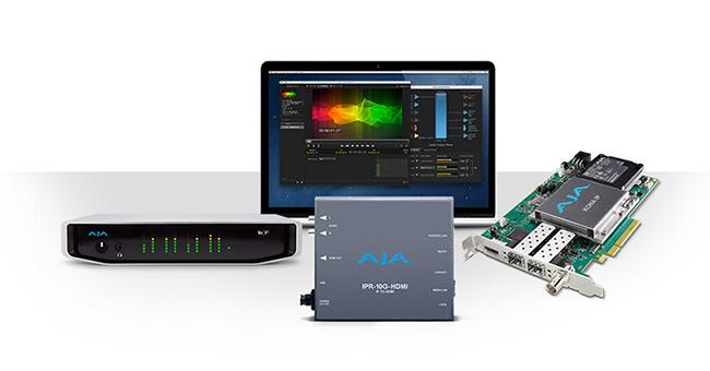 AJA Video Systems社、SMPTE ST 2110に対応する新しいソリューションをNAB 2018で発表