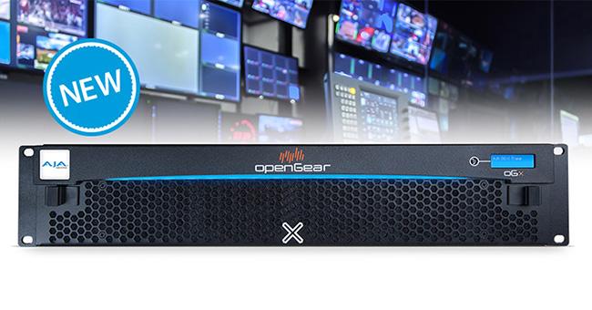 AJA Video Systems社、openGear規格準拠のラックフレーム「OG-X-FR」の受注を開始