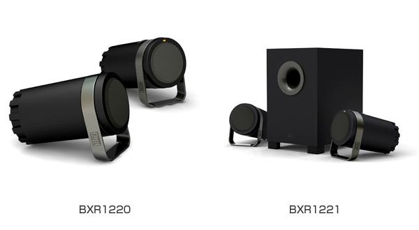 AltecLansing社製、PC用スピーカー「BXR1220」および「BXR1221」