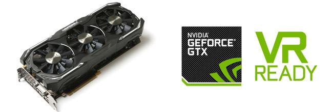 完成されたゲーミング性能。ZOTAC GeForce GTX 1080 AMP Extreme