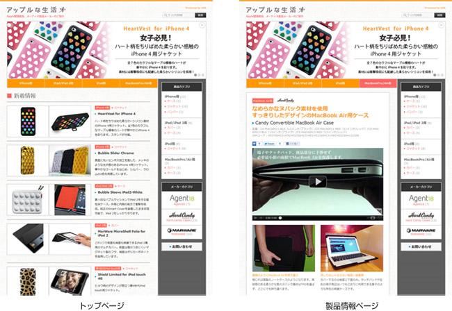 アップルな生活 サイトイメージ