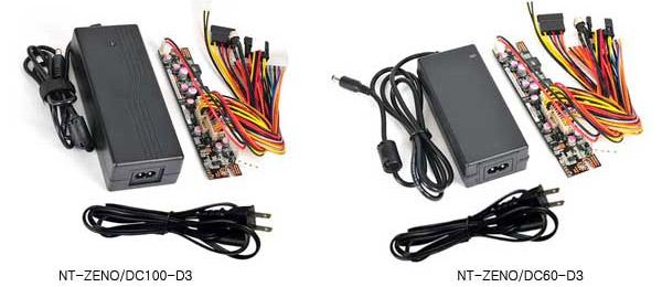 NT-ZENO/DC100-D3、NT-ZENO/DC60-D3 製品画像