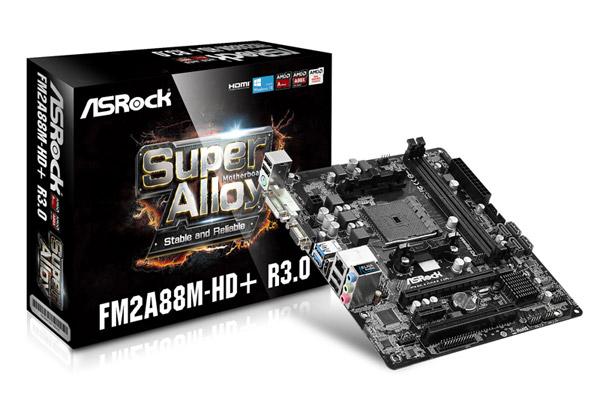 ASRock FM2A88M-HD+ R3.0 製品画像