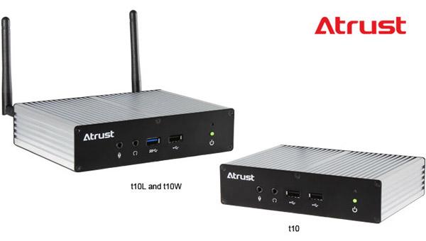 Atrust t10L、t10W、t10 製品画像
