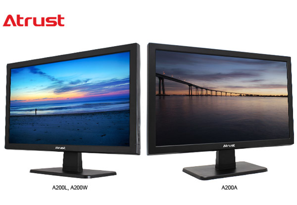 Atrust A200W、A200L、A200A 製品画像