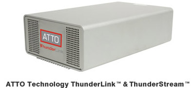 ATTO Technology ThunderLink™ & ThunderStream™ 製品画像