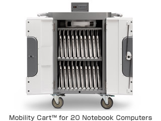 Mobility Cart™ for 20 Notebook Computers 製品画像