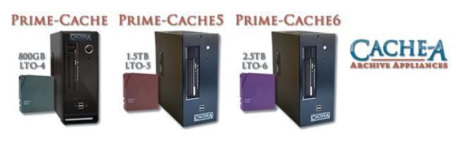 Cache-A社、LTO-6 デスクトップアーカイブソリューション「Prime-Cache6」を出荷開始