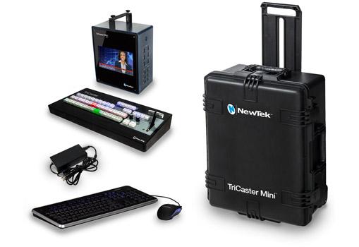 TriCaster Mini、Inter BEE特価キャンペーン