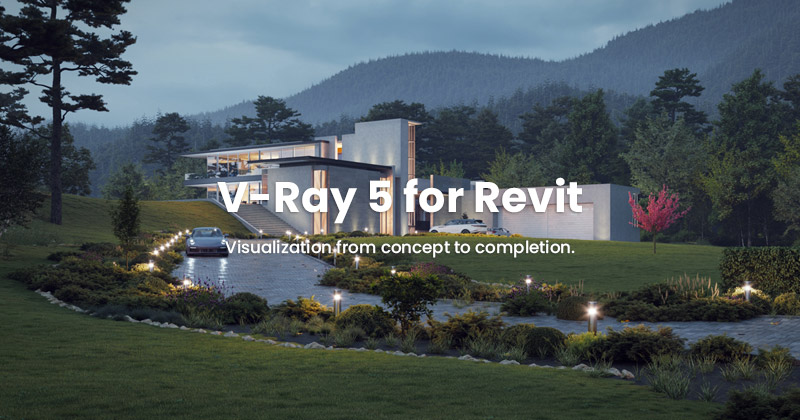Chaos Group V-Ray 5 for Revit 製品画像