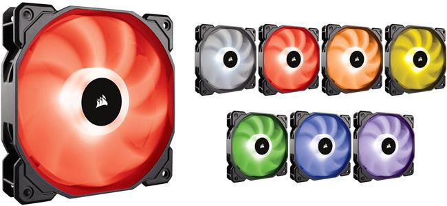 CORSAIR SP120 RGBシリーズ 製品画像