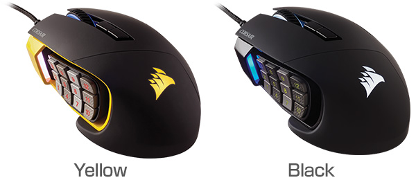 CORSAIR SCIMITAR PRO RGBシリーズ 製品画像