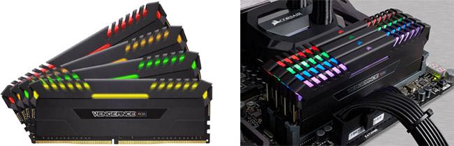 CORSAIR Vengence RGBシリーズ 製品画像