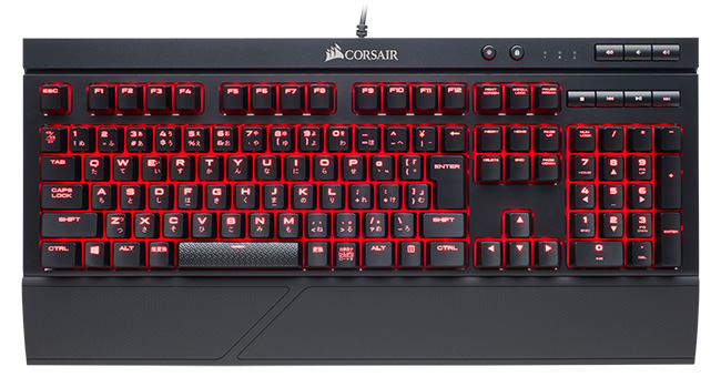 CORSAIR K68 Red LED 製品画像