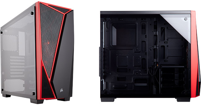 CORSAIR Carbide SPEC-04 Tempered Glass 製品画像