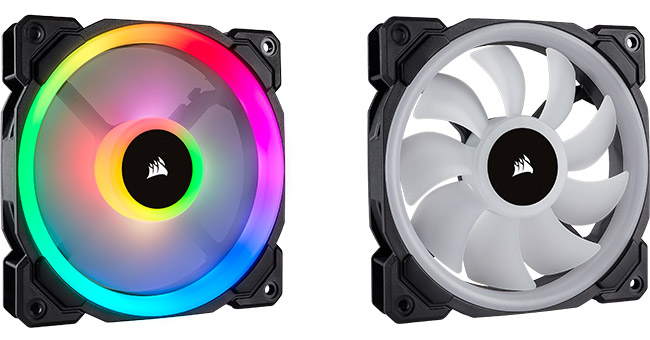 CORSAIR LL RGBシリーズ 製品画像