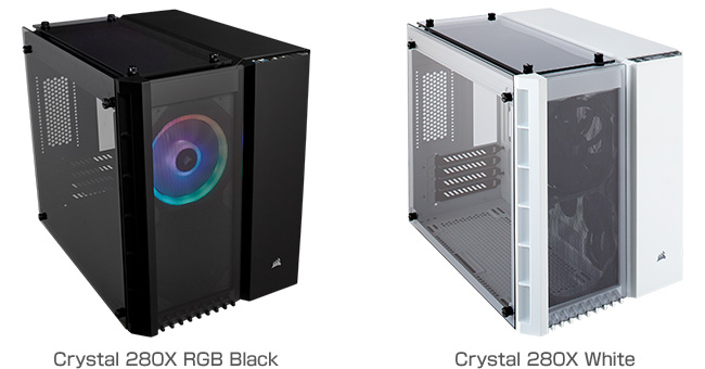 CORSAIR Crystal 280Xシリーズ 製品画像
