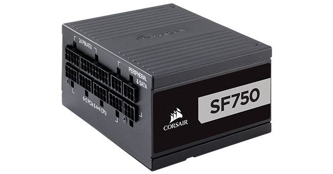 CORSAIR SF750 PLATINUM 製品画像