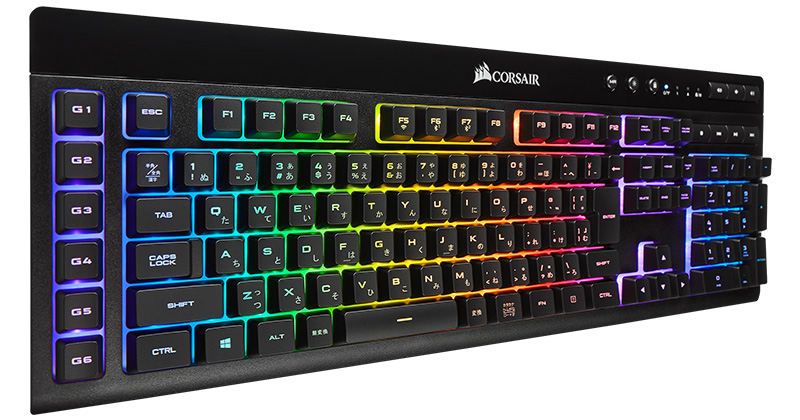 CORSAIR K57 RGB WIRELESS 製品画像
