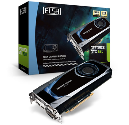 ELSA GEFORCE GTX 680 2GB 製品画像