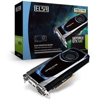 ELSA GEFORCE GTX 680 2GB 製品画像