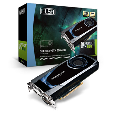 ELSA GEFORCE GTX 680 4GB 製品画像