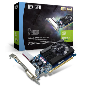 ELSA GEFORCE GT 630 LP 1GB 製品画像