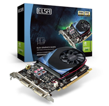ELSA GeForce GT 640 2GB 製品画像