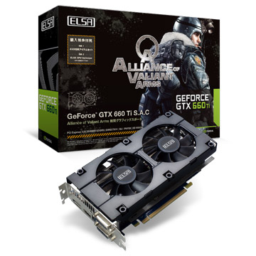 ELSA GEFORCE GTX 660 Ti 2GB S.A.C 製品画像